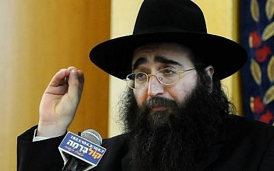 Rabbi Yoshiyahu Yosef Pinto (photo credit: Shuva Yisrael/Flash90)