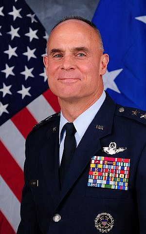 Lt. Gen. Craig Franklin of the US Air Force, a former F-16 pilot, will command the joint drill in October (Photo credit: US Air Force website)