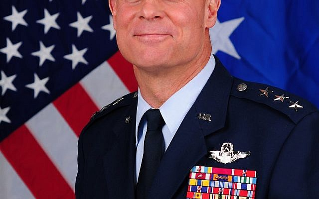 Illustrative photo of a US Air Force general (Photo credit: US Air Force website)