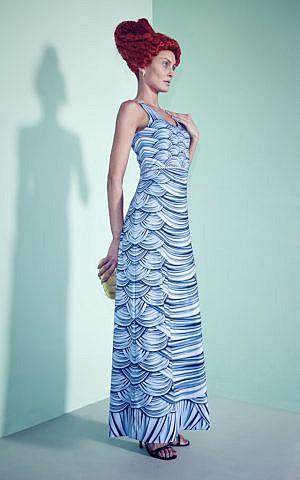 A 'ke-ilu' Atomic Mermaid dress from the 2013 Frau Blau Summer Collection (Courtesy Frau Blau)