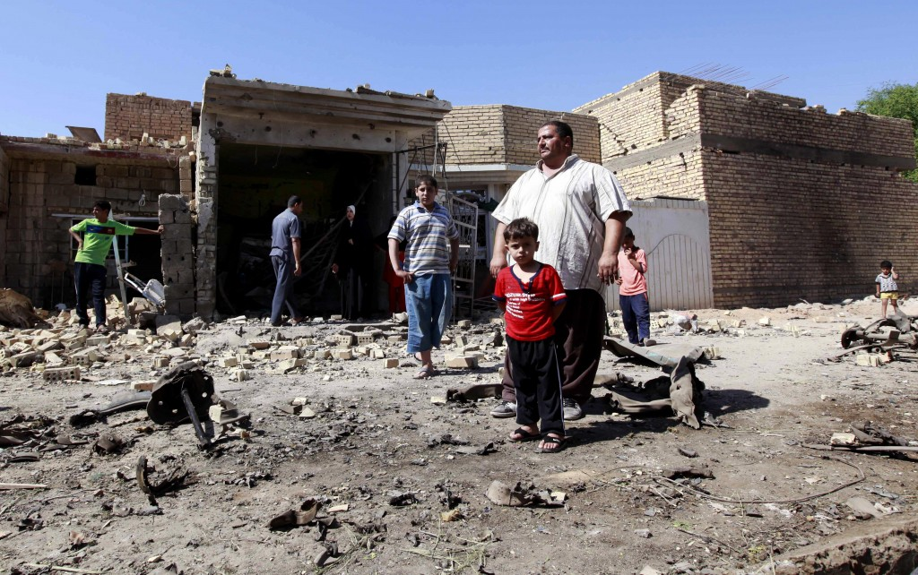 32 killed in sectarian terrorist attacks around Iraq   The