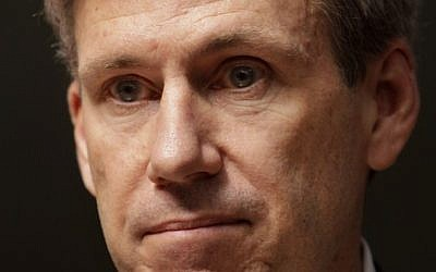 The late US ambassador to Libya Chris Stevens (photo credit: AP/Ben Curtis, File)