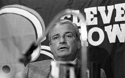 Art Modell in 1982. (photo credit: AP/Mark Duncan)