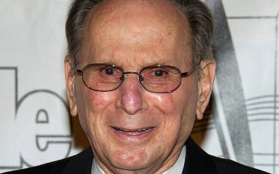 Hal David in 2011. (photo credit: AP/Charles Sykes)