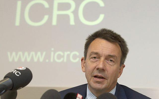 Peter Maurer, president of the International Committee of the Red Cross. (AP/Keystone, Salvatore Di Nolfi)