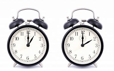 Daylight savings time ends overnight Saturday-Sunday (photo credit: Shutterstock)