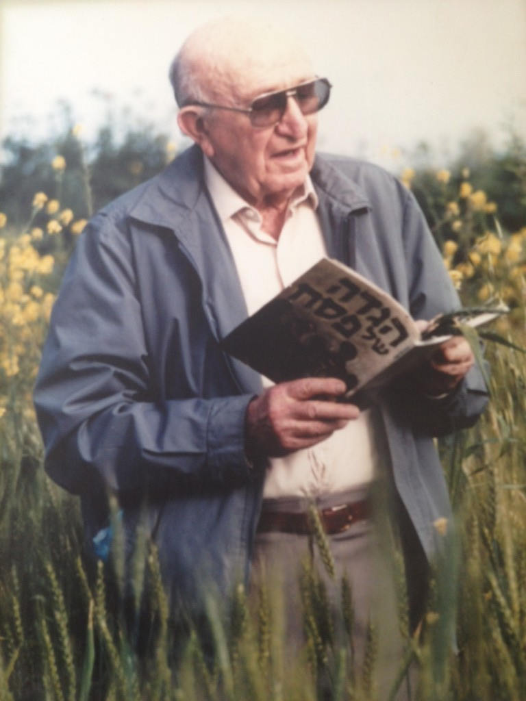 Aryeh Ben-Gurion, nephew of Israel's first prime minister and collector of kibbutz traditions (photo credit: Courtesy of the Kibbutz Institute for Holidays and Jewish Culture)