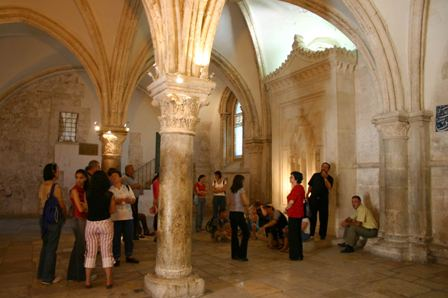 The Cenacle (photo credit: Shmuel Bar-Am)