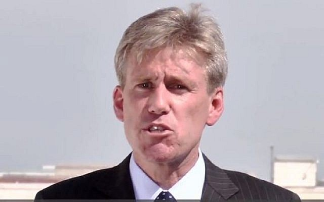 US ambassador to Libya Chris Stevens (photo credit: YouTube screen capture)