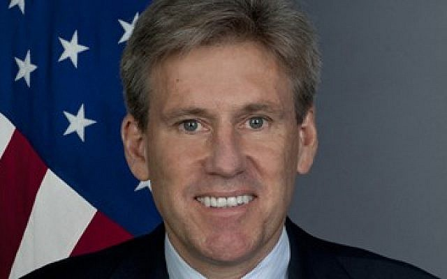 US ambassador to Libya Christopher Stevens (photo credit: courtesy/US State Department)