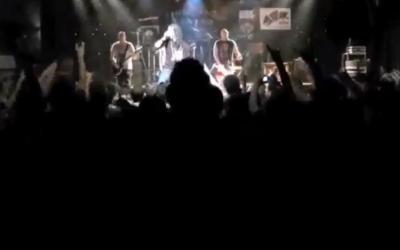 Metal concert (screenshot: YouTube)