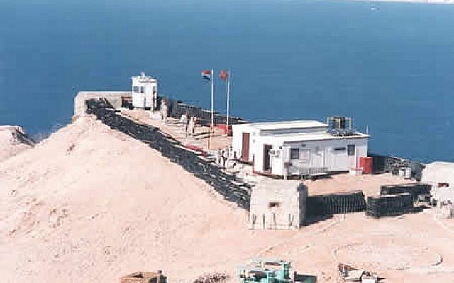An MFO base in the northern Sinai (photo credit: courtesy/MFO)