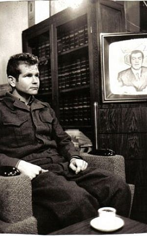 Shahak during a January 1974 interview from prison, Syria's first admission that it held Israeli POWs (Photo credit: Courtesy: Erim Balaila)