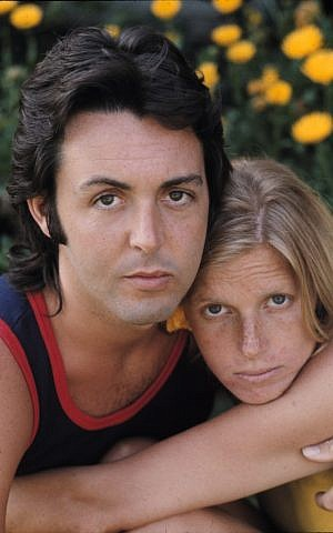 Paul and Linda McCartney (photo credit: Henry Diltz)