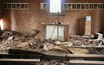 Churches, like this one in Rwanda, could have been safe havens for the Tutsi people who sought shelter, but in the weeks leading up to the 1994 genocide, the international peacekeepers were withdrawn (Photo credit: Wikimedia Commons/ CC-BY)