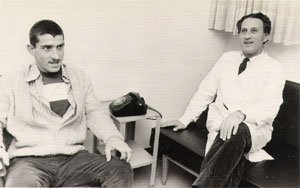 Ehrenfeld with his father after his release (Photo credit: Courtesy: Erim Balaila)