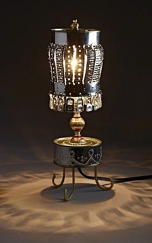 A reimagined lamp (Courtesy Yasmin and Aryeh)
