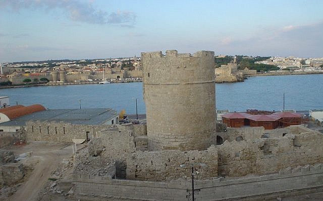 View of the Old City of Rhodes (photo credit: CC BY Lyn Gateley/Flikr)