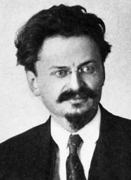 Leon Trotsky (photo credit: Wikimedia Commons)