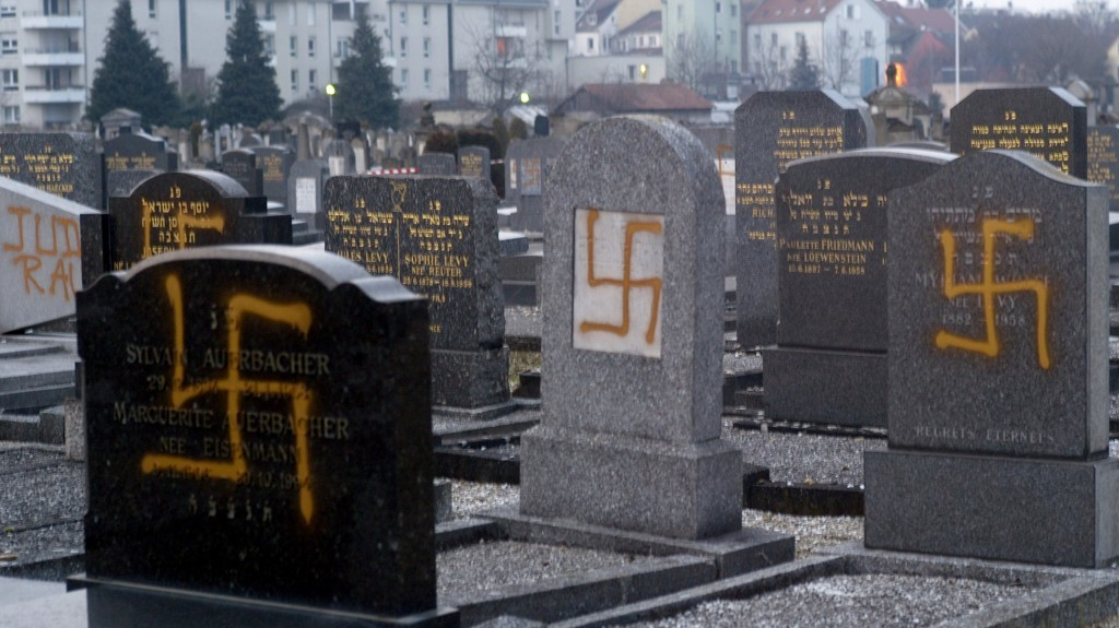 Image result for vandalism of jewish graves