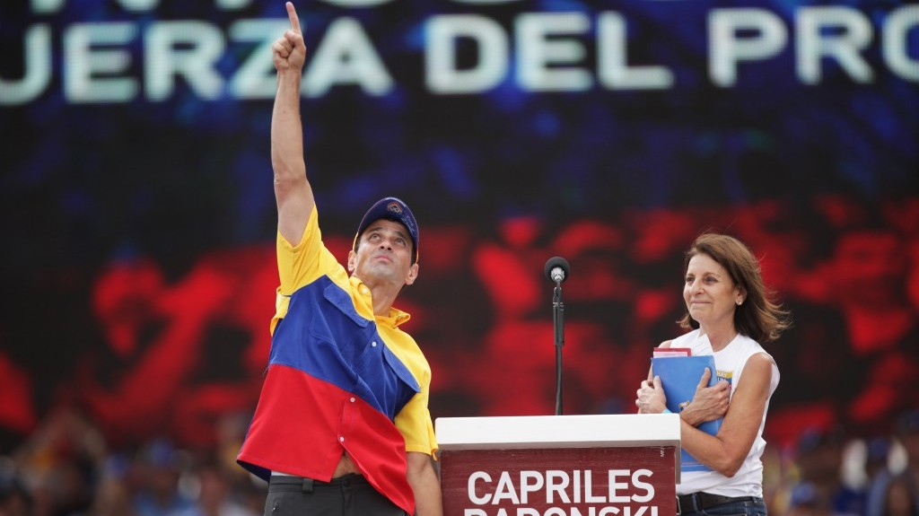 Capriles radonski se declara homosexual rights