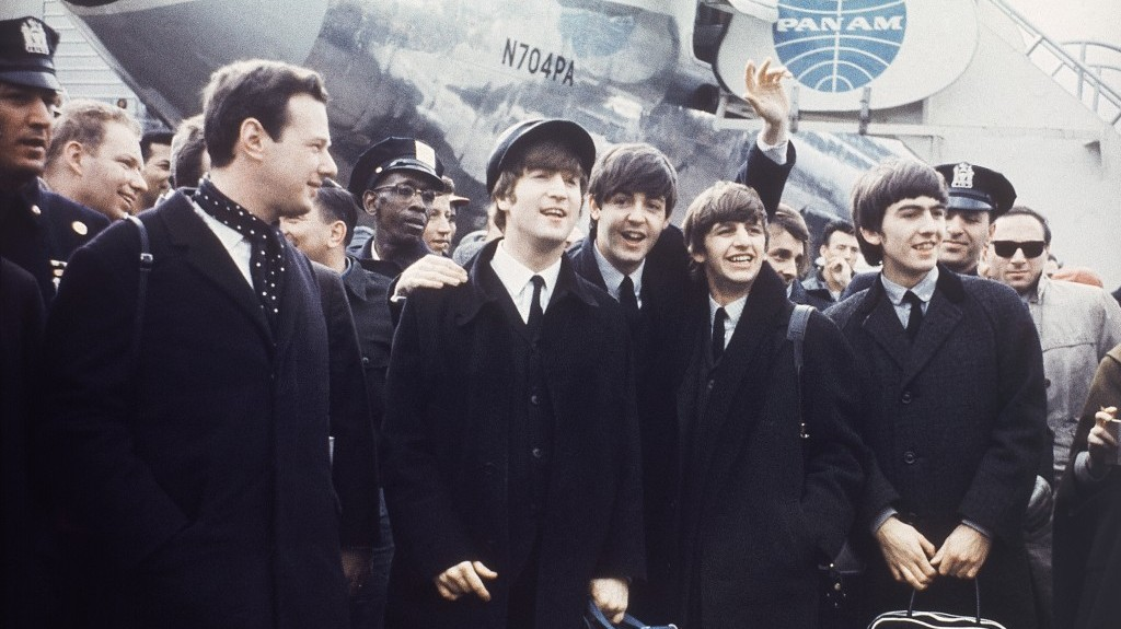 Brian Epstein Left With The Beatles On Tour In 1964 AP Photo