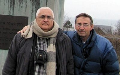 Professors Konstantin Komoshvili and Jacob Levitan (photo credit: Courtesy)