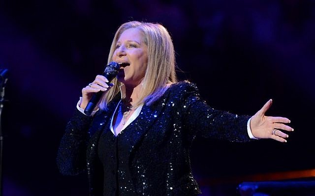 Singer Barbra Streisand kicks off her concerts at the Barclays Center in the Brooklyn borough of New York, on Thursday Oct. 11, 2012 (Evan Agostini/Invision/AP)