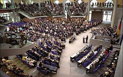 The German Bundestag (photo credit: Courtesy Whitehouse)