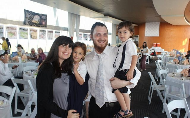 The Druks, a family of Chabad emissaries to Cancun (photo credit: courtesy of Chabad Cancun)