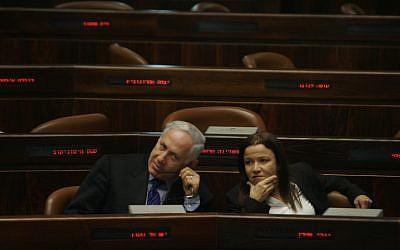 Benjamin Netanyahu (left) and Shelly Yachimovich (photo credit: Michal Fattal/Flash90)