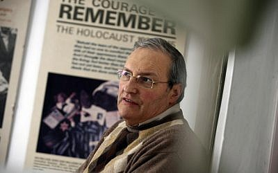 Nazi hunter Efraim Zuroff in 2009. (Yossi Zamir/Flash 90)