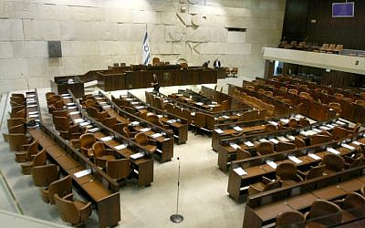 Israel's Knesset: Closed for elections. Reopening Feb. 2013, under new management (photo credit: Abir Sultan/Flash 90)