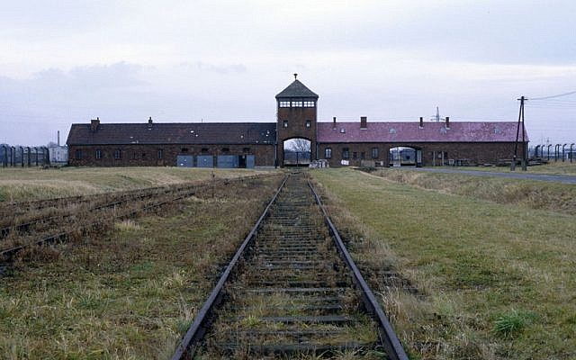 Poland provided the most visitors to Auschwitz last year, followed by the UK, US, Italy and Germany. (Serge Attal/Flash 90)