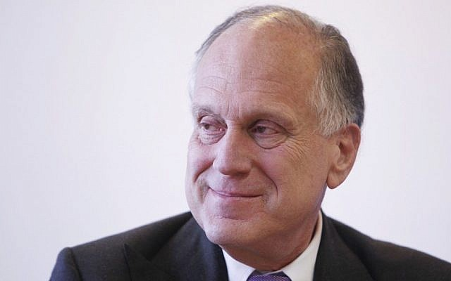 Ronald Lauder, President of the World Jewish Congress. (photo credit: Miriam Alster/Flash90)