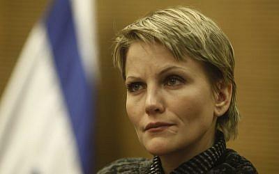 MK Anastasia Michaeli (photo credit: Uri Lenz/Flash90)