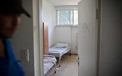 Illustrative photo of a psychiatric hospital. (photo credit: Noam Moskowitz/Flash90)