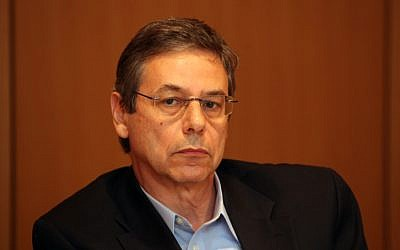 Deputy Minister of Foreign Affairs Danny Ayalon at the Foreign Ministry in Jerusalem in October 2012. (photo credit: Yoav Ari Dudkevitch/Flash90)