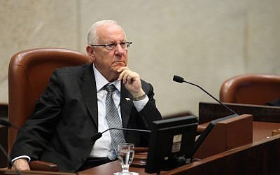 Knesset Speaker Reuven Rivlin (photo credit: Yoav Ari Dudkevitch/Flash90)