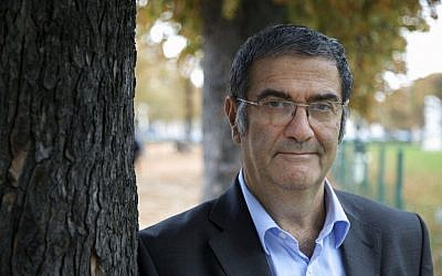 French physicist Serge Haroche in Paris. Haroche and American David Wineland share the 2012 Nobel Prize in physics. (photo credit: AP/CNRS/Christophe Lebedinsky)