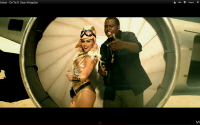 "Known for No. 1 single ""Beautiful Girls,"" Jamaican dancehall star Sean Kingston is collaborating with Meital Dohan, an Israeli actress. (Photo credit: YouTube screengrab)"