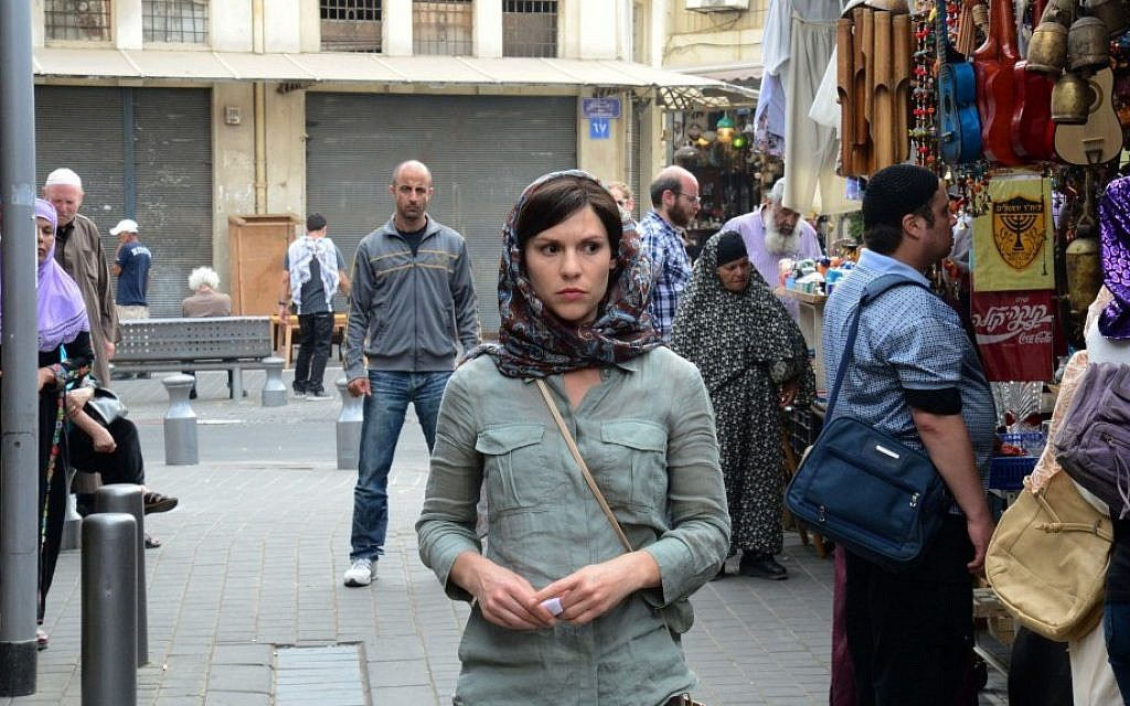 Claire Danes plays Carrie Matheson in a scene from the second season of 'Homeland,' portions of which were filmed in Israel. (AP/Ronen Akerman/Showtime/File)