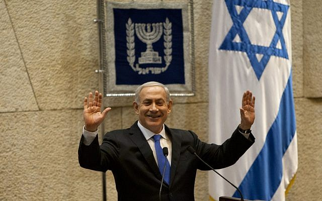 Prime Minister Benjamin Netanyahu (photo credit: AP Photo/Sebastian Scheiner)