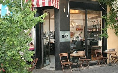 A view of Nina Cafe (photo credit: Courtesy/Nina Cafe Hotel Suites)