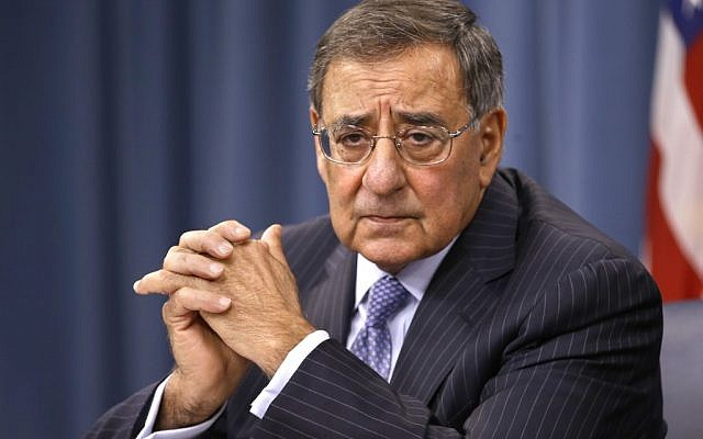 US Defense Secretary Leon Panetta (photo credit: AP/Jacquelyn Martin)