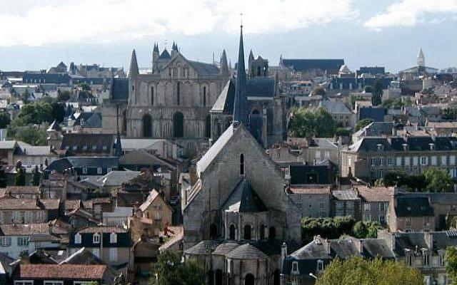 Poitiers, France (photo credit: Mario Vercellotti/Wikimedia Commons)