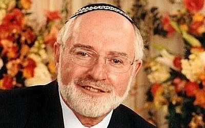 Rabbi Bernhard Rosenberg (photo credit: Courtesy)