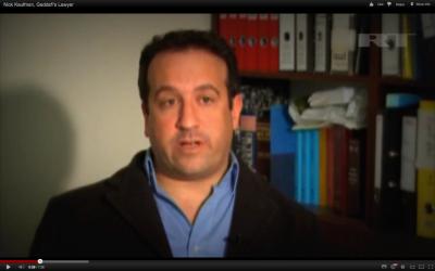 Nick Kaufman (photo credit: YouTube screenshot)
