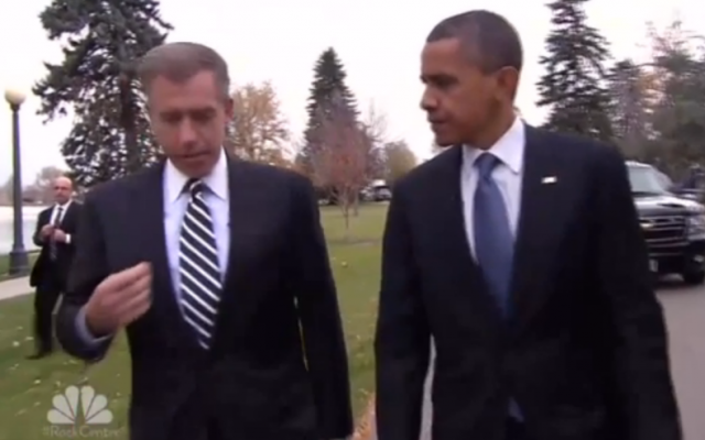 President Barack Obama, with NBC's Brian Williams (photo credit: NBC screenshot)