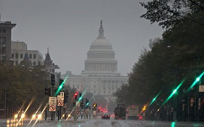 The US Capitol and Pennsylvania Avenue,file  (AP Photo/J. Scott Applewhite)